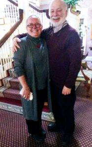 Innkeepers Michele and Eiran Gazit at Gateways Inn