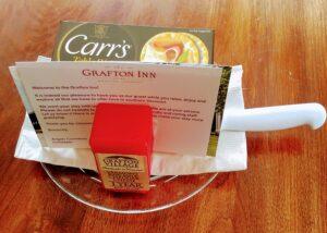 Grafton Inn cheese platter