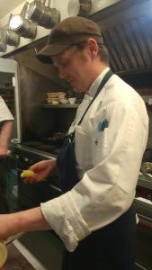 Sous Chef Joseph Ganley, Rabbit Hill Inn