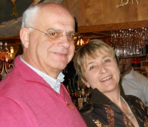 Claudio and Roberta pose at a recent Distinctive Inns of New England meeting. Photo by Marti Mayne.