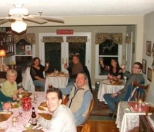 Inn at Harbor Hill Marina - blizzard dinner
