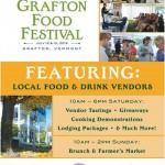 The 2nd Annual Grafton Food Festival, July 12-13th.