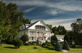 At the center of life in Lower Waterford is the Rabbit Hill Inn.
