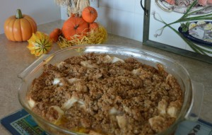 Apple Crisp recipe from Inn at Harbor Hill Marina