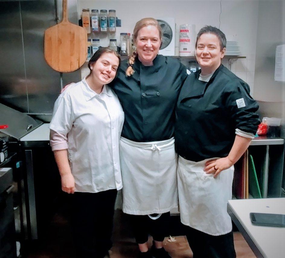 Kitchen staff at Gateways Inn
