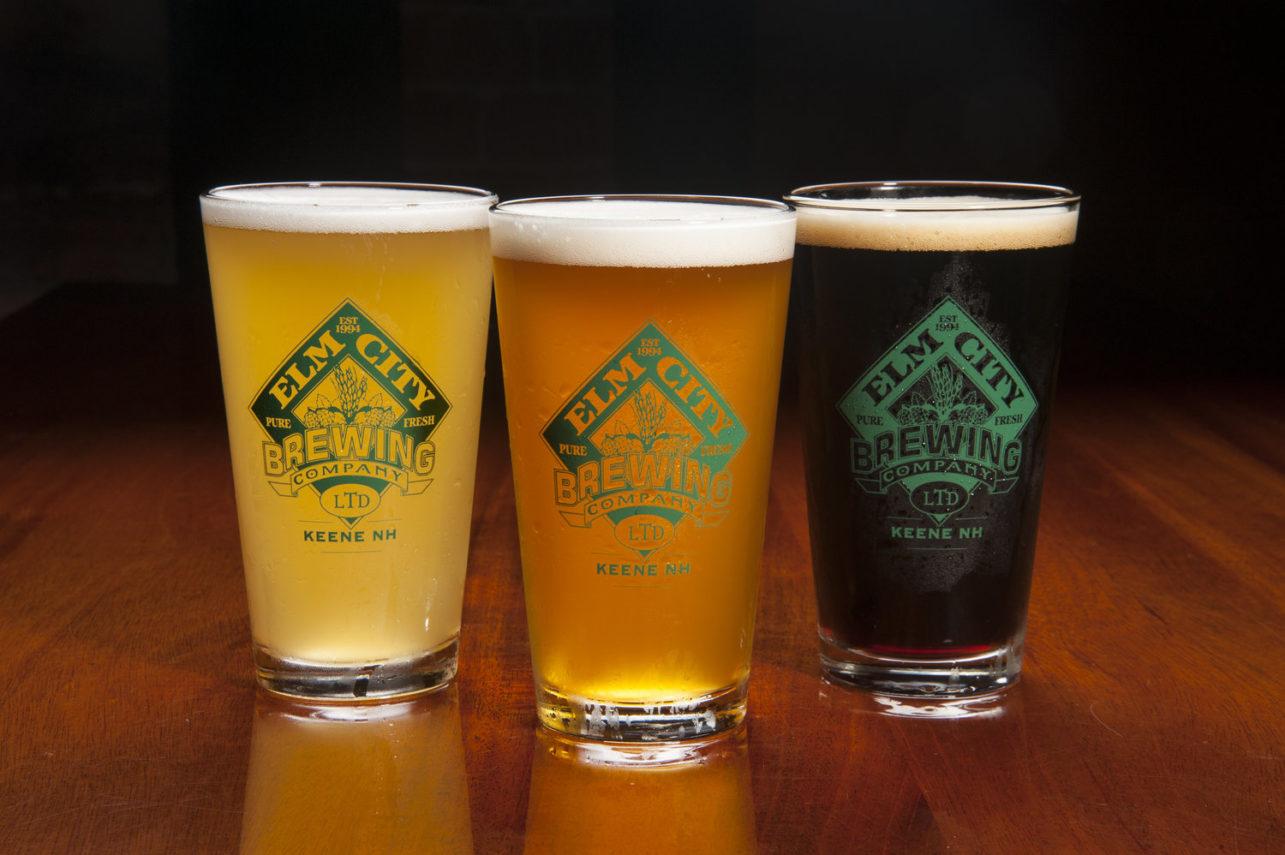 Elm City Brewing beers in Keene, NH
