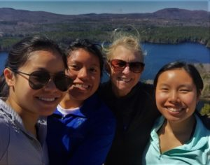 Photo of Janis and her 3 daughters from Camden Maine Stay Inn