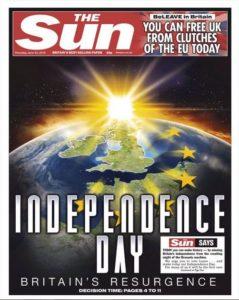 The Sun, Brexit vote