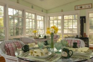 Camden Maine Stay Breakfast room