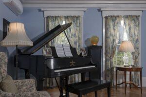 Camden Maine Stay Piano Room