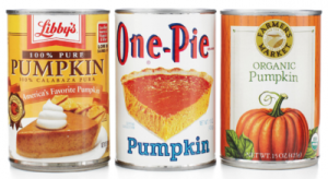 Canned pumpkin is part the pumpkin bread pudding recipe from Rabbit Hil Inn