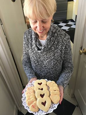 Captain Jefferds Inn heart shaped cookies