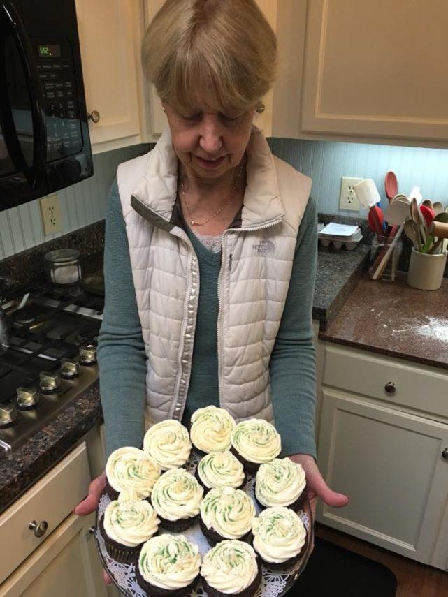 Captain Jefferds Inn Irish cupcakes