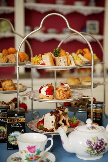 Afternoon Tea at Captain's House Inn