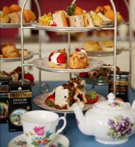 Tea time at Captain's House Inn