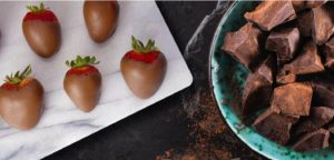 Chesterfield Choco Covered strawberries