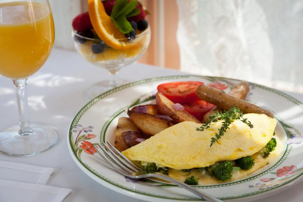 Chesterfield Inn breakfast to order