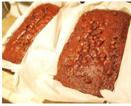 Chocoalte Zucchini Bread recipe from Rabbit Hill Inn