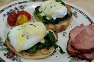 Breakfast at the Cliffside Inn, Newport, RI