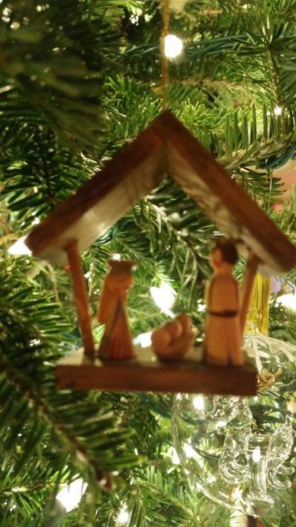 Christmas creche from Croatia