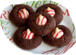 Peppermint Choco Cookies