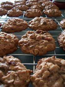 Cranberry Chocolate Cookies from Captain's House Inn