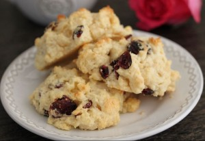Cranberry Scones from Chesterfield Inn