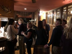 DINE innkeepers gather in the pub at Manor on Golden Pond