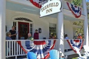 Deerfield Inn, front porch