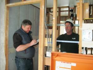 Karl Sabo - Deerfield Inn reconstruction