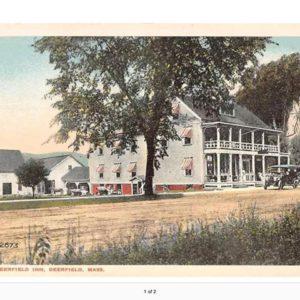 Historic old photo of Deerfield Inn