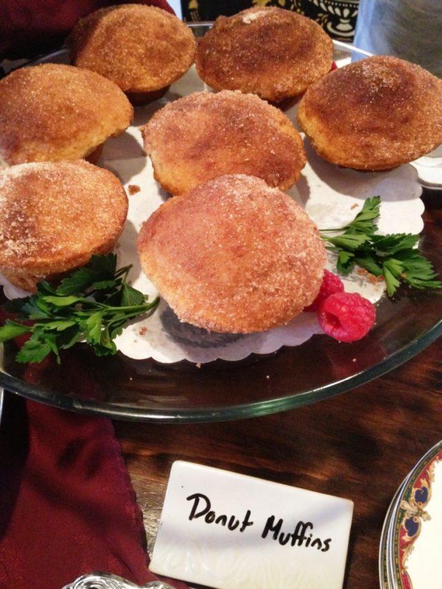 Donut muffins at the Rabbit Hill Inn