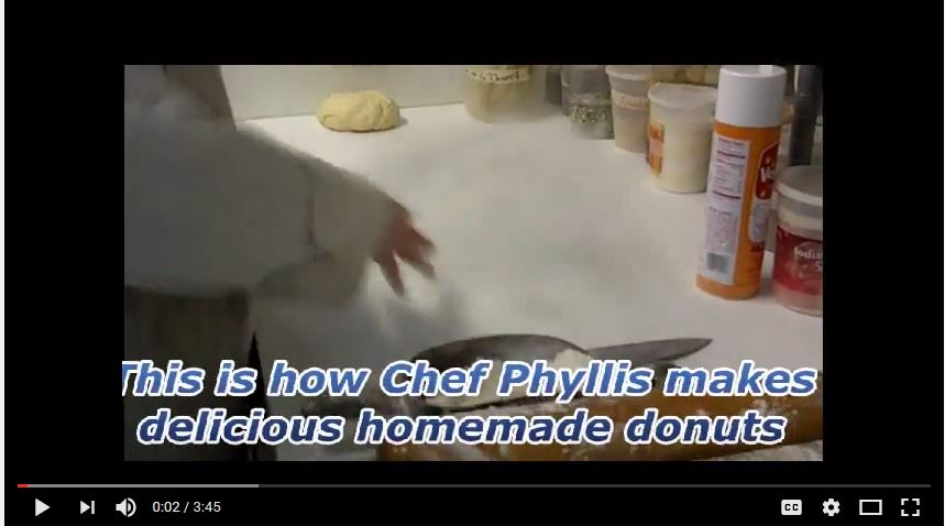 video on how to make the donuts from Rabbit Hill Inn