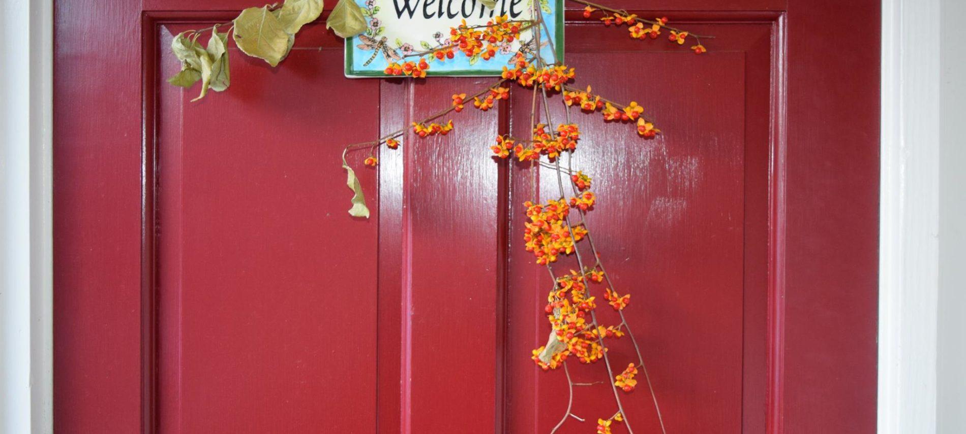 Deerfield Inn wreath