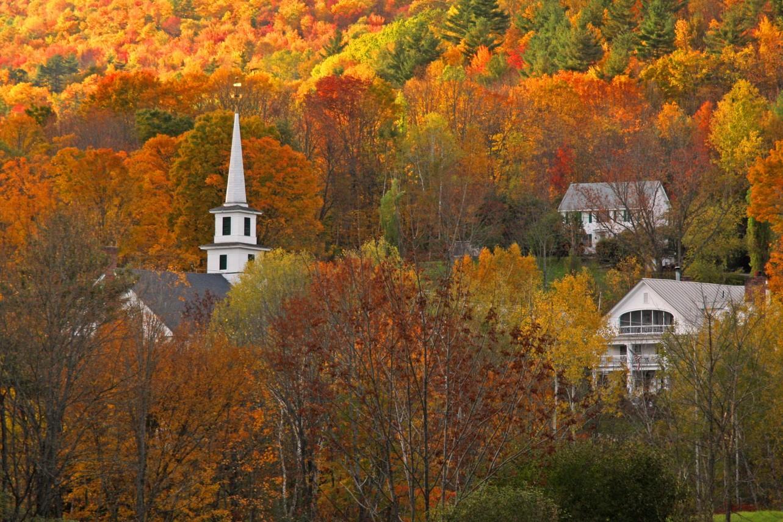 Rabbit Hill Inn, fall foliage