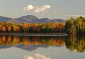 Fall colors, Lakes Region, NH