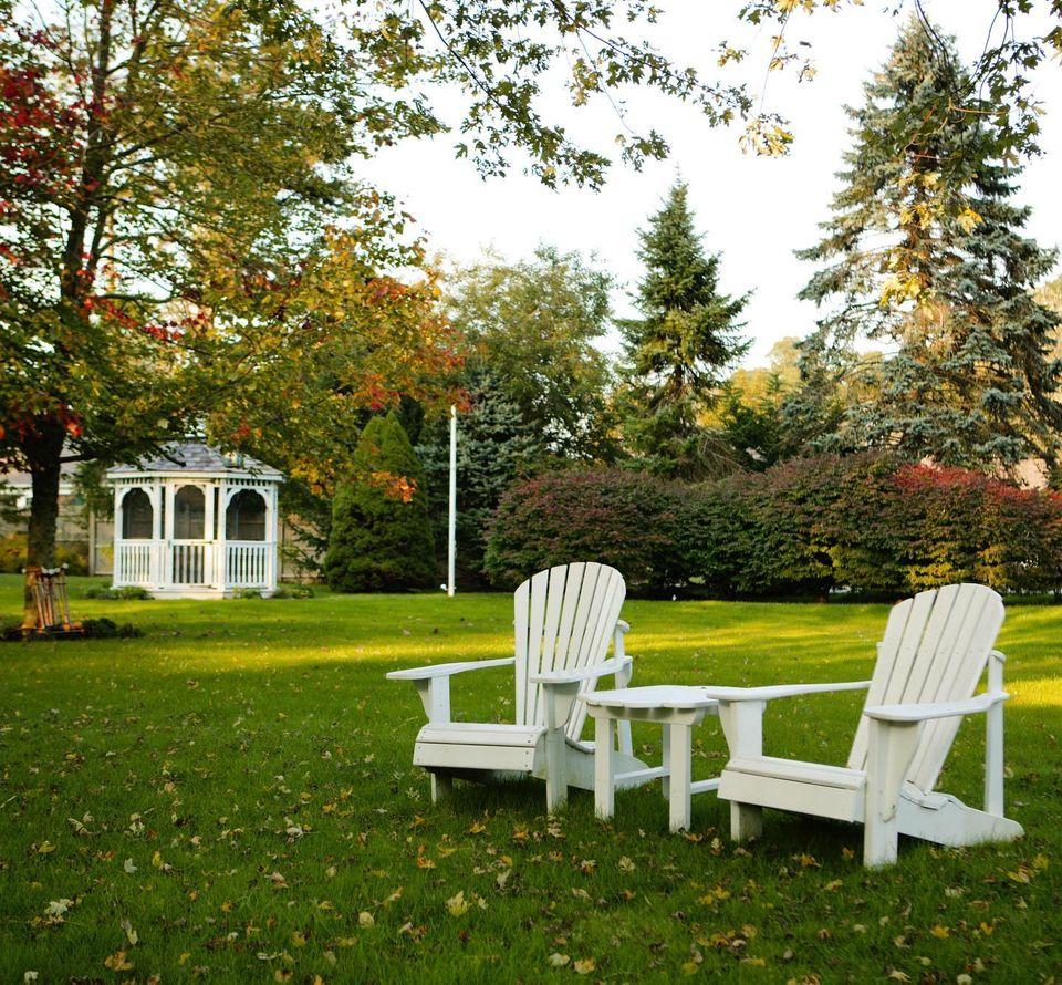Adirondack Chairs at Captain's House Inn