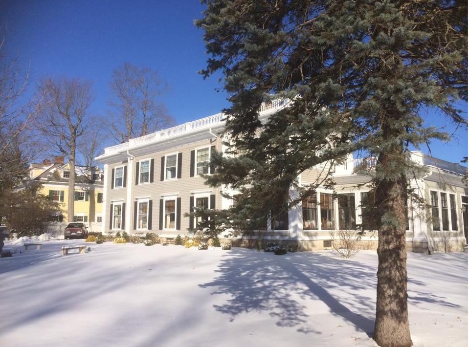 Gateways Inn exterior winter shot