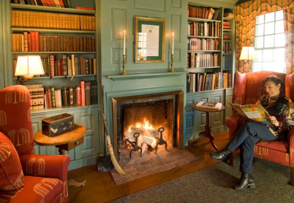 Grafton Inn Vermont's fireside parlor