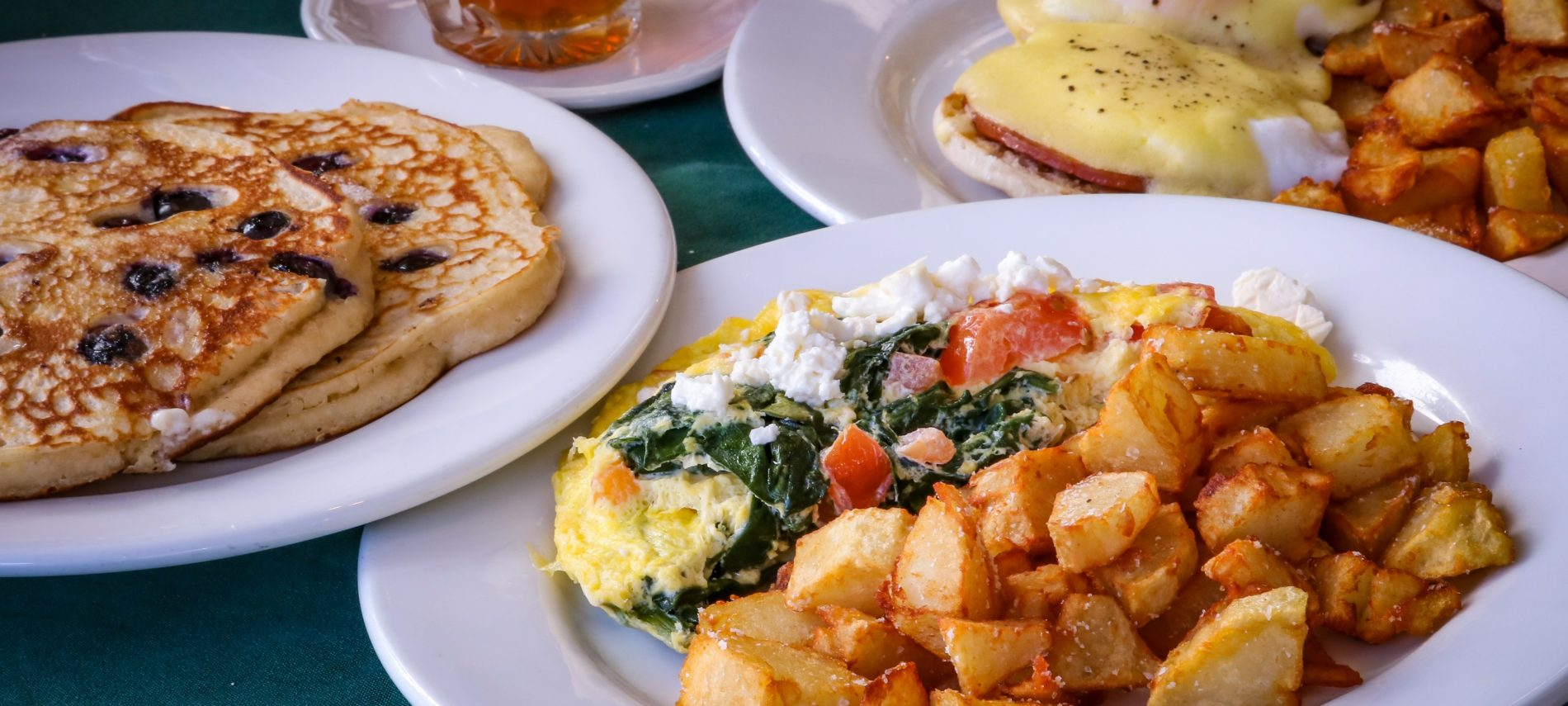 2 breakfast dishes served at Grafton Inn Vermont