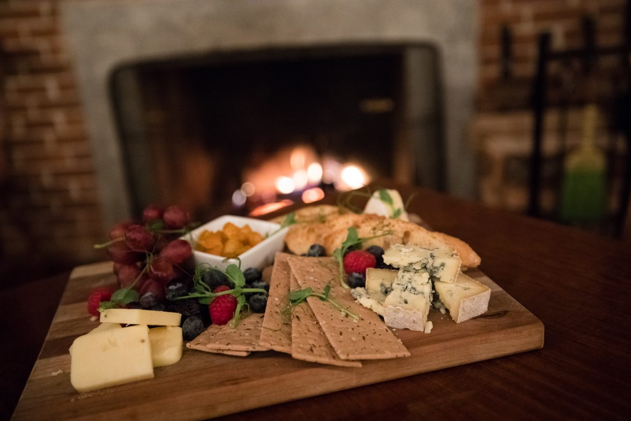 Cheese plate at Grafton Inn, Grafton, VT