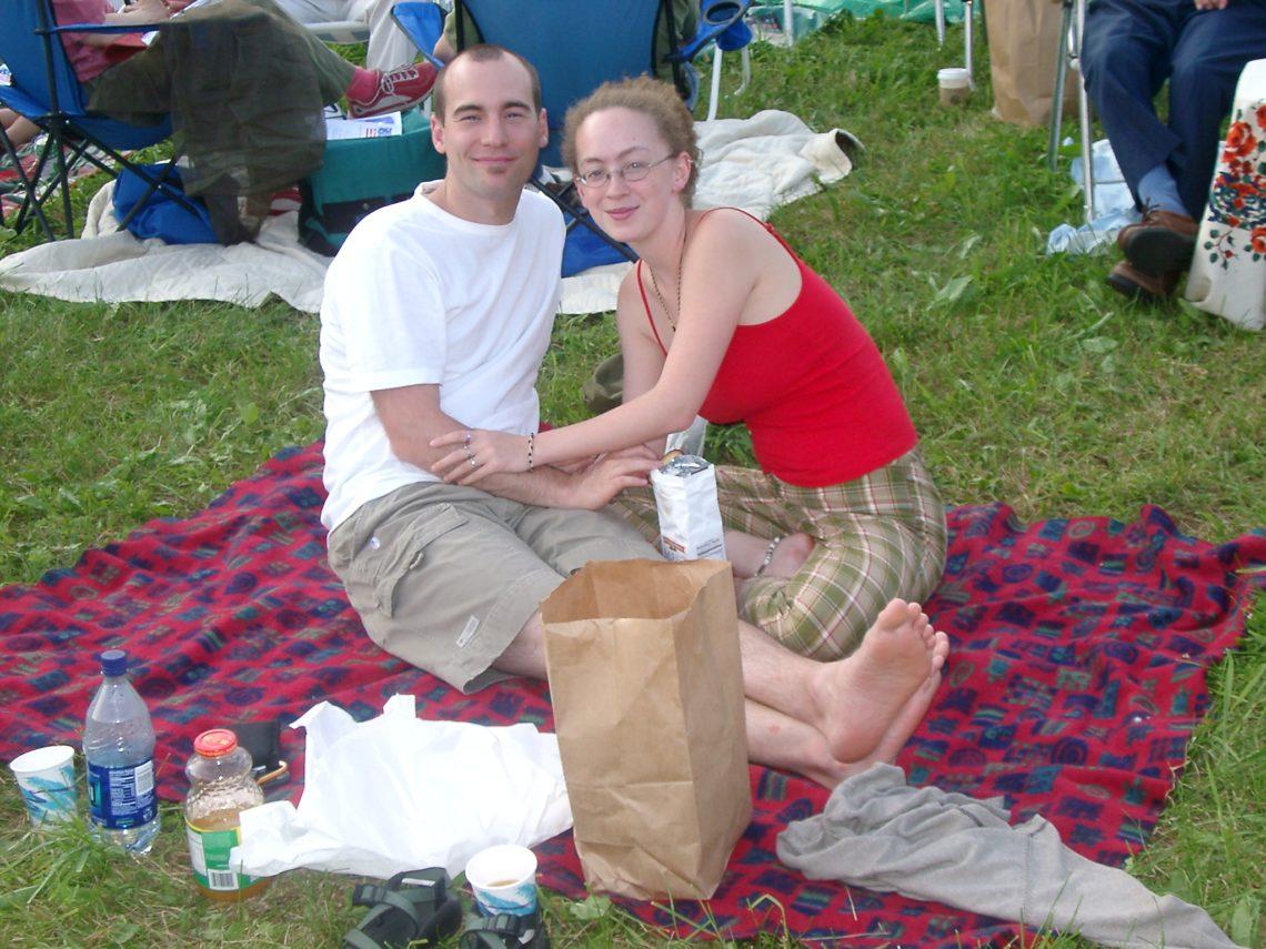 July 4th picnic at Grafton Inn