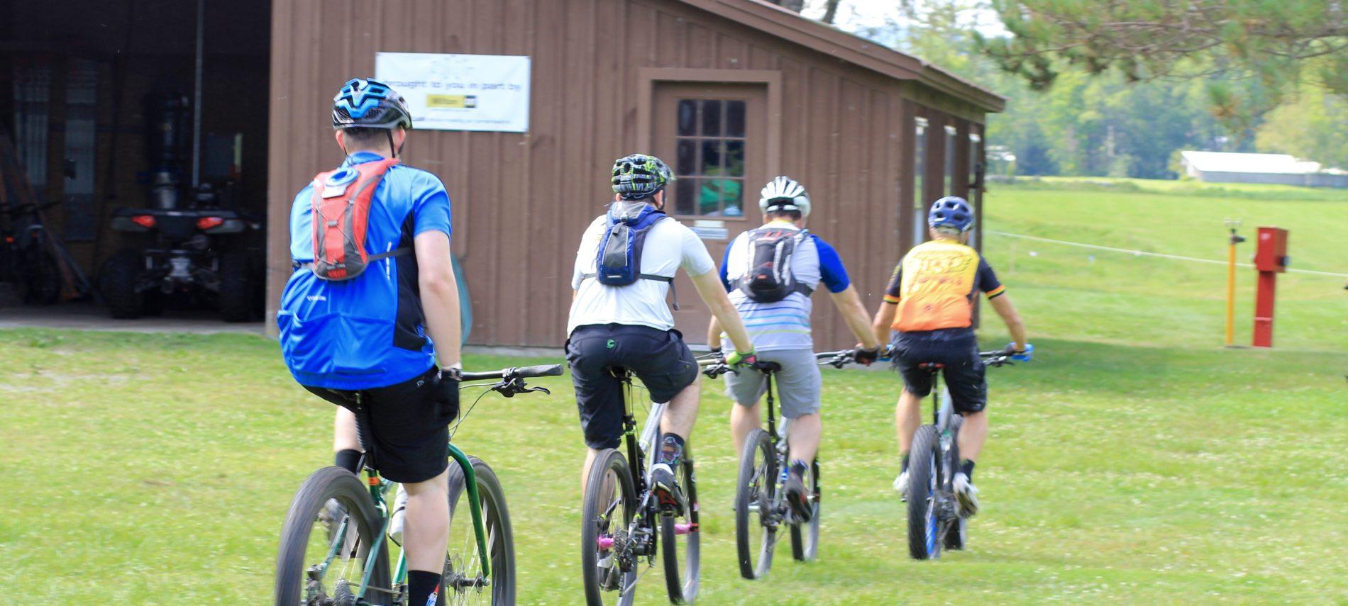 Mountain Biking at Grafton Ponds