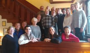 DINE innkeepers gather for a group photo at Manor on Golden Pond