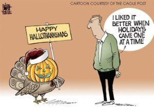 Hallowthanksmas cartoon