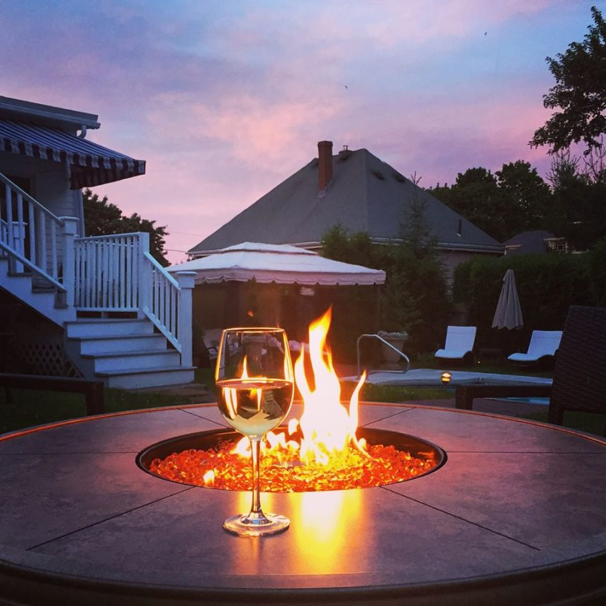 Firepit at Harbor Light Inn