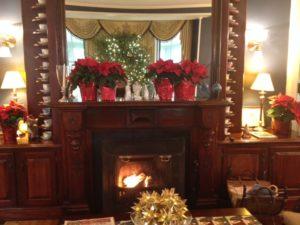Cliffside Inn fireplace
