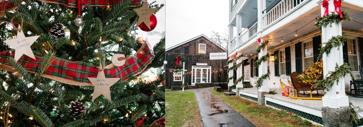 Grafton Inn holiday collage