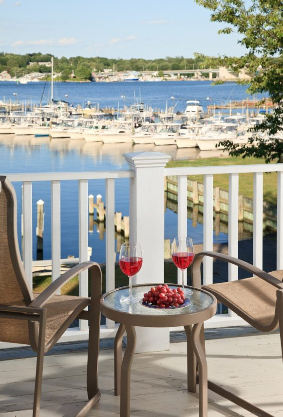 waterfront rooms at Inn at Harbor Hill Marina