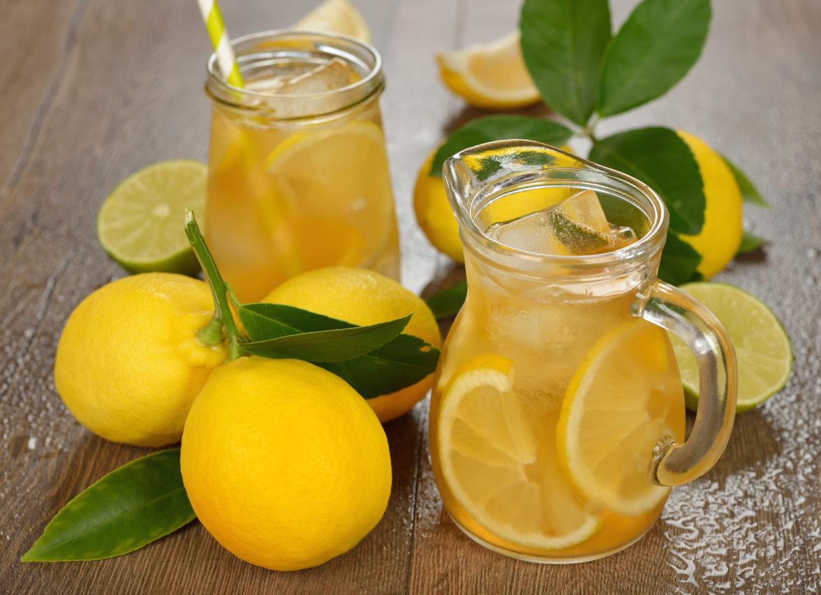 Lemonade and lemons from Deerfield Inn